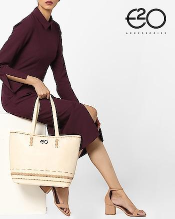 When you carry #E2oFashion, you don't just carry a handbag but you carry an attitude!
