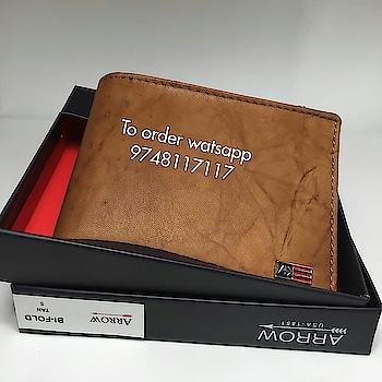 #arrow #pureleather #wallets Arrow pure leather wallets! watsapp 9748117117 to order
