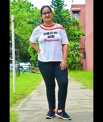 My mantra these days though it is SO hard to workout in this icky weather. How do you beat the humidity blues or do you have any fitness tips you'd like to share with others? Let me know in the comments below! T-shirt: @maxfashionindia Slacks: @unlimitedstores Shoes: @campusshoes Frames: @titaneyeplus Pc: @aryan.datt . . . . #mdblogs  #chandigarhblogger  #chandigarhfashionblogger  #delhifashionblogger  #mumbaifashionblogger  #bangalorefashionblogger  #fashionblogger  #blogger  #fashion  #instagram  #instafun  #college  #collegeteam  #outfitideas  #outfit  #indianfashionblogger  #indianblogger