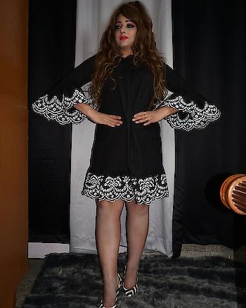 cute little black dress 😘  #ootd #jewellery #outfit  #outfitoftheday #roposofashion #roposofashionista #fashionblogger #fashiondiaries #roposostyle #streetstyle #roposolook #lookoftheday #ropososelfie #roposolovers #roposolove #follow #beautiful #picoftheday #ootdmagazine #notfilter #lookbook
