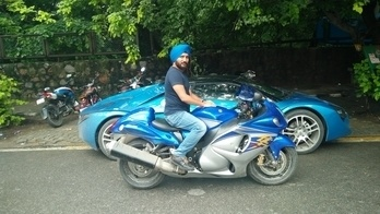 #boldandbearded #busa #hayabusa #blueisnewblack #turbanfashion