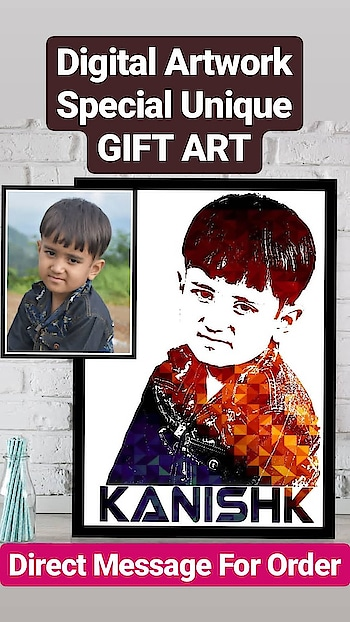 Happy Customer❣️ Trending unique Gift🎁❣️ Order Done😍😘 Digital Splash Artwork💞 ️Play with pictures😻😻 ❤️Get your own Photo Art ❤️Just send us your pictures for get it done ❤️Need DSLR and High Qulity Pics❤️Both softcopy and hardcopy is available Dm for Order @photo_art_store @gifts_shopping_time  @gift_online_store  @personalized_magazine Special🎁🎁🎁🎁🎁😘 😍SPECIAL PERSON😍 Keep Ordering😍😍 Birthday Couple Friendship Family Anniversary 😍😍 😍 DM for Order  #surprises #specialgift #happybirthday #birthdaygift #birthdaygifts #customisedgifts #uniquegifts #giftsforher #giftsforhim #giftsforcouple #anniversarygifts #anniversarygift #personalisedcards #greetingcards #handmadegift #handmadegifts #handmadecard #womanentrepreur #femaleentrepreneur #giftideas  #photo_art_store #gifts_shopping_time #gift_online_store