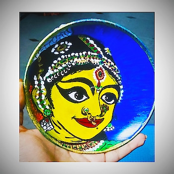 #art #plateart #walldecor #wallhanging  #decorativeartsofindia