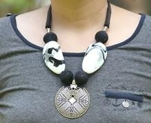 #germansilverjewellery #stonenecklace #western