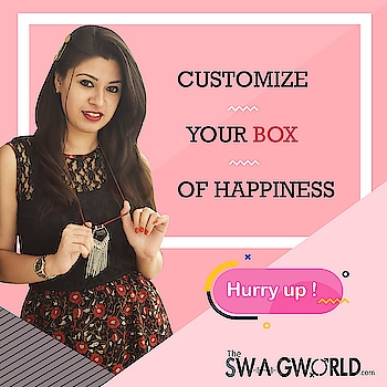 Build your own monthly jewelry subscription box . . .#TheswagWorld #jewelleryaddict #subscriptionbox #jewellerysubscriptionboxindia . @the_swagworld . Shop at www.theswagworld.com . WhatsApp on 9664352272 to place your order. . #subscriptionbox #monthly #theswagworld  #theswagbox #follow #subscriptionboxaddiction #varietiesofswagbox #loveforsubscriptionbox #ladiessubscriptionbox #classicswagbox #miniswagbox #swagboxwithabonus #princessswagbox #curateyourswagbox #stylemyswagbox #trendyjewelry #statementjewellery #thebnbmag  #floralswagbox #jewellery #jewelry #jewelryoftheday