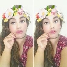 #snapchatfun #flowercrown #snapchatlove #timepass #poser