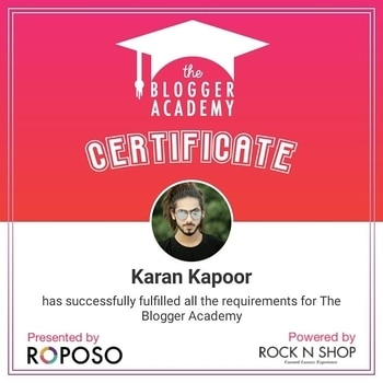 • HAPPINESS IS TO BE A CERTIFIED BLOGGER 🎓 . . . . . . . . . .  After so Many Hard Work I Got this platform. Its been Dream come true to be a certified Blogger. . . . . . . . . its Been impossible without my lifelines - . . . . . . . . .  @pallavi.singh_official_ my love 💕 tnqew So Much for teaching me and telling me about all this. Its been a great pleasure for me .Love You 💕 you are best life partner 💕 . . . . @raghav.vashishtha my BigB 😘 tnqew so much for there being with me and helping me out and make it creative all the things. you are the best broda 😘😘😘👔 . . . . @umang_sharma._ My Little bro 😘 tnqew so much bro for clicking all the things and make it creative and make it possible too. tnqew so much bro😘 you are my little best bro.😘 . . . . . . . . .  Its possible just because of you guys. tnqew so much for their being with me 💕 . . . . . . . . Tnqew So much @roposolove for the certified blogger 👔😘 . . . . . . . . .  #Certifiedblogger #certificate #faishonblogger #karankapoor #indianblogger #parentingblogger #fashionbloggers  #trends #newfashionblogger #styleinspiration #stylechat #ontrend #trend #blogger #fblchat #fashionchat #fashiongram #fashionlife #fashionpromo  #pictureoftheday #selfies #bestoftheday #outfitoftheday #hotd #haircut #curls