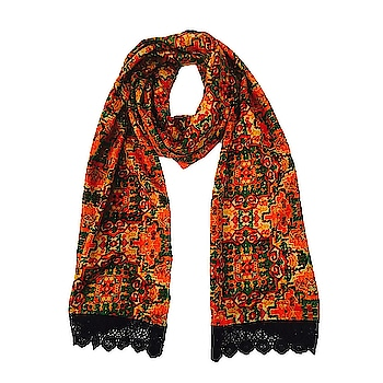 Do you recall Red Carpet #Magic #Moments ? Well, here we have an awe #inspiring range of Arabic Night Stoles with Beautiful Black Laced Border, Drape it like a #Snood or #Stole the choice is yours!! 😉  Grab This Stole to complement lots of outfits at https://www.niche-one.com/collections/stoles/products/arabian-nights-stole  #stole #scarf #printed #red #black #travel #yellow #classy #wearitloveit #women #gift #onlineshopping #woven #season #love #india #bloggers #fashion #accessories #fashionblogger #fashionlover #followforfollow #like4like #india #picoftheday