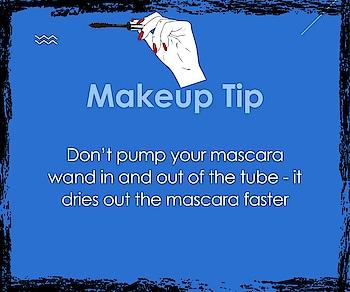 Twist and swirl... #mascaratips  #makeup  #beauty  #didyouknowfacts  #mascara  #roposomakeup #mascara hacks #mascaralove #mascaralover #mascaraaddict #mascaramadness #tips #tipsandtricks