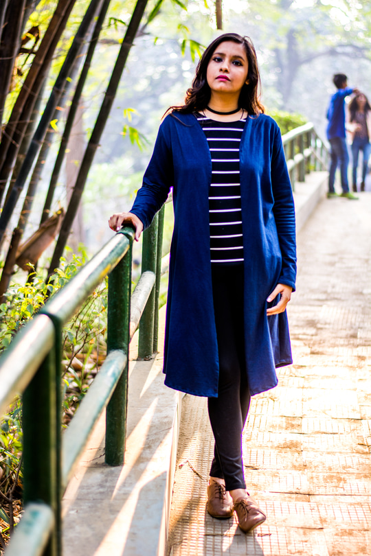 #Fashionforecast2017  Layering with stripes!   Trench coats and keeping up with 2016 choker trend with oxford shoes!    @roposocontests @claymango @roposotalks
