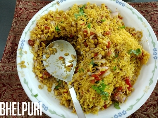 BhelPuri for Any Occasion and Any Moment :)!!