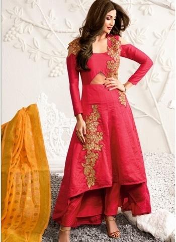 Buy Eid Special Collections online @SareeBee.com Buy this Shilpa Shetty Hot Pink Designer Suit click @goo.gl/Z4YLAe   #shilpashetty #chaniyacholi #ghagracholi #indianwear #indianwedding #fashion #fashions #trends #cultures #india #womenwear #weddingwear #ethnics #clothes #clothing #indian #beautiful #lehengasaree #lehenga #indiansaree #vjvfashions #bridalwear #bridal #indiandesigner #style #stylish #bollywood #kollywood #celebrity #outfits #vjvfashions #salwarkameez #ethnicwear