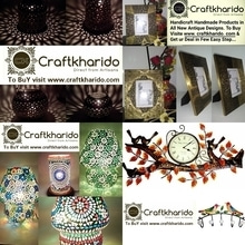 Antique and unique HandmadE products... To Buy Visite www.craftkharido.com