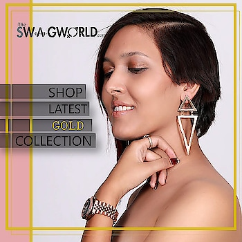 Shop stunning#gold collection . .#TheswagWorld #jewelleryaddict #subscriptionbox #jewellerysubscriptionboxindia . @the_swagworld . Shop at www.theswagworld.com . WhatsApp on 9664352272 to place your order. . #subscriptionbox #monthly #theswagworld  #theswagbox #follow #subscriptionboxaddiction #varietiesofswagbox #loveforsubscriptionbox #ladiessubscriptionbox #classicswagbox #miniswagbox #swagboxwithabonus #princessswagbox #curateyourswagbox #stylemyswagbox #trendyjewelry #statementjewellery #thebnbmag  #floralswagbox #jewellery #jewelry #jewelryoftheday
