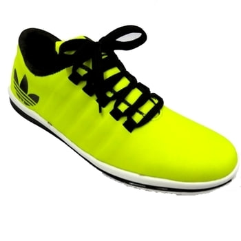 These shoes are Xedo Brand shoes which are made up of foam material. These are very different shoes in neon colour sports sjoes .which is Amazing with PU sole material.