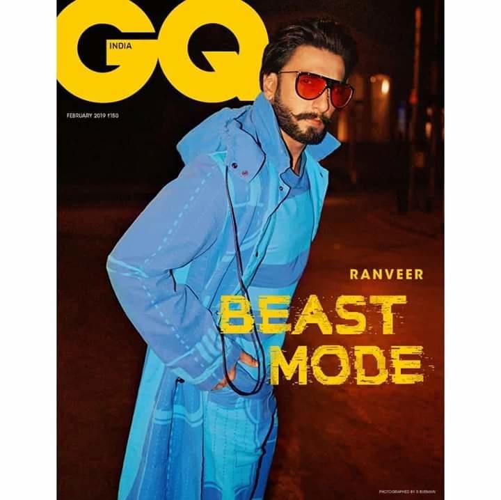 BEAST MODE 🦍 GQ India #ranveersingh #gqmagazine #gqindia #gqshoot #gqstyle #gqmenoftheyear