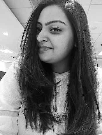 Monochrome is timeless.  #roposo #black-and-white #self-love #happy #ropo-girl #ropo-beauty #cuteness-overloaded