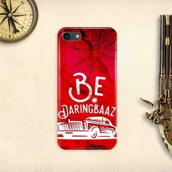'Be Daringbaaz' 3D textured hard case mobile cover from 'The Chambal' www.thechambal.com #thechambal #mobile #cases #new #online #shop #easy #adventure #hard #stylish #looks #phone #models #quality #chambal #best #follow #like