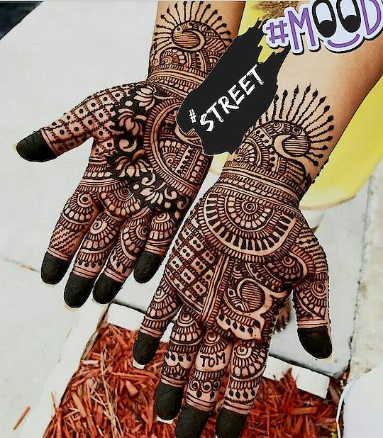 #mhendibydishu  #latest-mehndi #indian-mehndi #mehndiartist #designer-of-mehndi #lagsmehndi#bridal_mehndi #street #mood