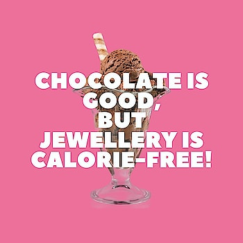 It's TRUE! 0 calories, 💯 Fashion 😜 #jewelleryaddict . . . . . #theredbox #crazysexycool #truestory #chocolovers #jewellerylove #qotd #quoteoftheday #wordsofwisdom #postoftheday