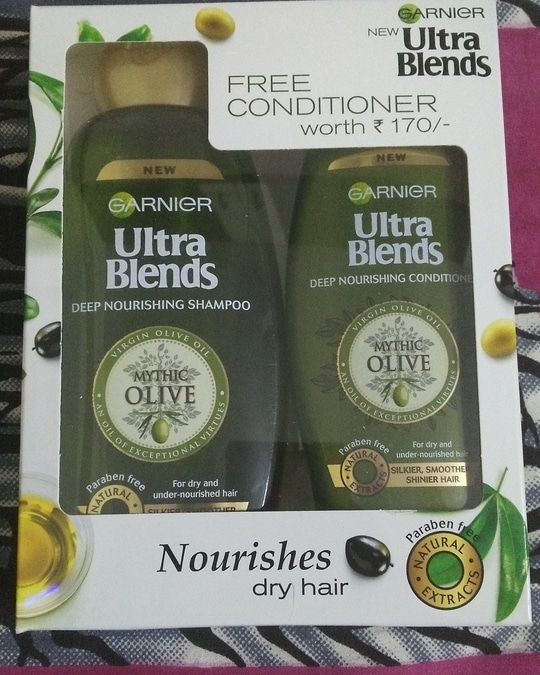 Garnier Ultra Blends Deep Nourishing Shampoo