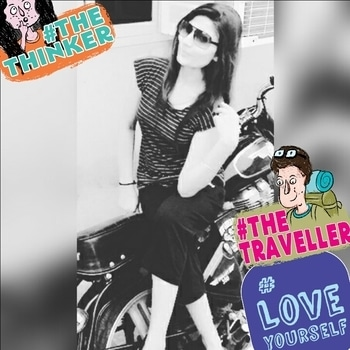 #roposotalenthunt #loveyourself #thetraveller #thethinker