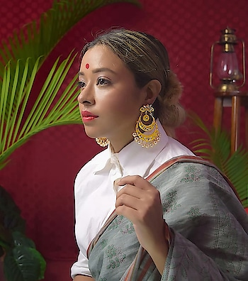 If you like to keep your look effortless and yet stand out, a statement piece of jewelry is your answer. Coming up next on the blog, SnT Ft. @jivaana . . . . #jewelry #indian #Traditional #Ethnic #influencers #soroposolove #roposo-style #accessorize #fashionjewelry #bangalorefashionblogger #bangaloreblogger #blogger #roposo-good #roposoblogger #fashion #indianblogger #indianbloggersroposo #fashionjewelry #onlineshoppingindia