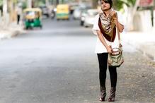 Let's oversize everything #oversized #scarf #leggings #boots #fashionblogger