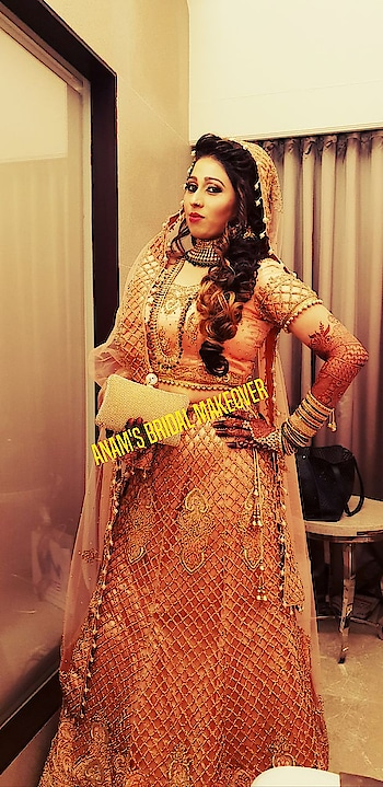 ANAM's BRIDAL MAKEOVER #anamsiddique #byme #bridesmaids #brides #hairstylist #makeupartist