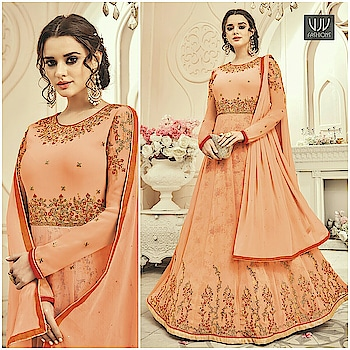 Buy Now @ https://goo.gl/oDzwLm  Wonderful Peach Color Silk Designer Anarkali Suit  Fabric- Silk  Product No 👉 VJV-KESA7010  @ www.vjvfashions.com  #dress #dresses #bollywoodfashion #celebrity #fashions #fashion #indianwedding #wedding #salwarsuit #salwarkameez #indian #ethnics #clothes #clothing #india #bride #beautiful #shopping #onlineshop #trends #cultures #bollywood #anarkali #anarkalisuit #beauty #shopaholic #instagood #pretty #vjvfashions