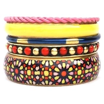 CZFashions Moroccan Mood Bangle Set #bangles #czfashions #jewellery #fashion #women-fashion #jewelry #indianbangles  #lifestyle #tranding
