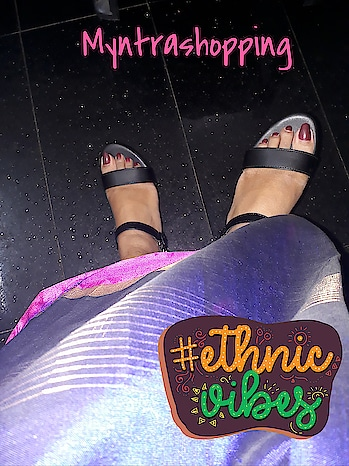 #wedgesaddict  #happyshopping  #myntra  #heels  #ethnicvibes  #roposodiaries  #roposo  #trendingfashion  #shoppingtime  #heelsaddict #wedges  #high-heels  #mastandharbour  😗😗