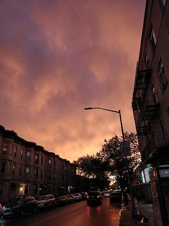 #sunset #beautiful #brooklyn #roposo-creativeartist