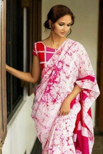 #cotton saree