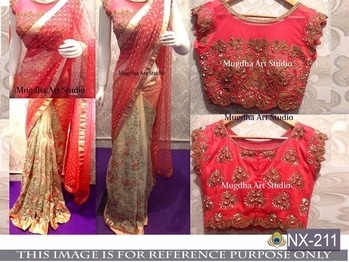 Beautiful Saree -@1650/- INR Only, Fabric details --  DS NO.  :   NX-211,     PALLU  :   GEORGET,     SCUTT  :   NAYLON MONO NET,    INNER  :   SATTIN SILK,    BLOUSE  :   BENGLORI SILK,    WORK  :   MULTY WITH  DORI WORK & SEQUNCE WORK,   TYPE  :    SAREES.    **WHATSAPP ME AT +91 9760614947** #lehenga#lehengacholi#indianfashion#indianweddings#sagan#mehndi#designerdress#delhi#mumbai#fashion#dallas#dallasindia#wedding#indianwedding#london#londonfashionweek#canada#australia#dubaifashion#dubaiethnic#womenfashion#trendy#latest#sareehyderabad#delhi#delhistreet#pune#bangalore#delhiwedding#floral,