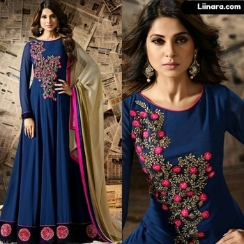 Navy Blue Jennifer Winget Anarkali Suit  100% Original Company Product with High-Quality Fabric Material.  Shipping World Wide.  Price - Rs 3380/- After discount Rs 2850/-  Shop Here - https://www.liinara.com/products/navy-blue-jennifer-winget-anarkali-suit  #designerdress #salwarkameez #anarkalisuit #anarkali #liinarafashion #straightsuit #salwarsuit #straightsalwarsuit #patialasuit #punjabisuit #fashion #love #ethnicwear #suitwithjacket #follow #instagram #heercollection #unstitched #mohinisuit #pakistanistylesuit #longsuit #mohiniaarya #embroideredsuit #purplesuit #longsuit #mugdhasuits #mugdhaanarkali #partywearanarkali