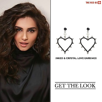 Get Ready to Sass up the Evening with our Inked & Crystal Love Earrings à la Tara Sutaria! 🤩 🔥 http://theredbox.co.in/en/get-the-look-tara-sutarias-earrings-2/ . . . . . #theredbox #crazysexycool #spiceitup #tarasutaria #earrings #inked #crystallove #lovearrings #heart #celebritystyle #getthelook #celebstyle #sassy #sundayoutfit #ootd #lookbooklookbook #heartearrings #loveearrings #instaceleb #instafashion #blogpost #fashionblogger #fashionblog #bomblook #fashionquotient #lookoftheday #instadaily #daily #stylevitae #stylepost
