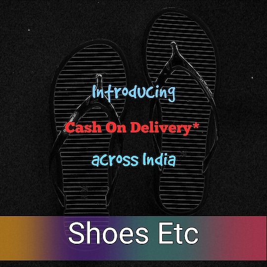 On additional payment of 50 ₹ across India. *share the pincode to check the COD availability in your area.   #shoes #sandals #sneakers #slippers #slip-on #flats #heels #blackheels #boots #bellerina #bellies #stilettos #womensshoes #womenssneakers #girlsshoes #feetporn #shoelove #pumps #heels #shoesetc #shoegasm #shoeaddict #shoesoftheday #shoecollection #girlssneakers #women-fashion #womenonroposo #women-apparels #womensfootwear #girlstyle #ropo-style #roposofashion #mumbai #juhu #delhi #kolkata #pune #bangalore #goa #hyderabad #chennai