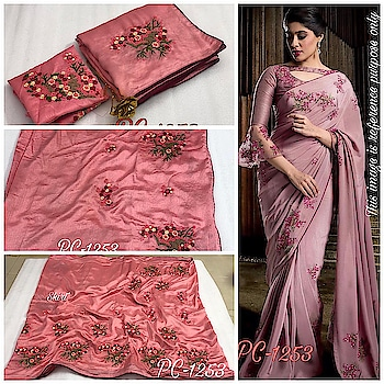 *NEW LAUNCHING*  🌞 *PC-1253*  🌞 *SAREE* VICHITRA SILK  🌞 *BLOUSE* BANGLORI SILK  🌞 *WORK* EMBRODERY RESAM  🌞 *SINGLE COLOR*  🌞 *READY TO SHIP*  🌞 ONLY AT JUST *₹.1180*  FREE SHIPPING ALL OVER INDIA . . . . . . . . . . . #ajmer  #jaipur  #rajasthandiaries  #orderonline  #ordernow  #followusoninstagram  #instapost  #instagood  #onlineshoppinglovers  #onlinedeals  #onlinestore  #clientdiaries  #onlineshoppinginindia