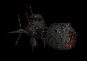 spaceship #3dmodel  #autodesk_maya