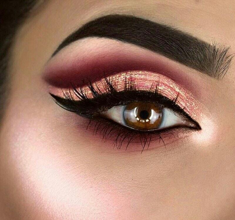 #makeup Goals 💜💓💜💓 Snag it today #makeuplove #eye-makeup #makeuprevolutionindia #bridal makeup #bridal-makeup #makeup artist #party makeup #makeupblogger #makeuplove #makeuplook