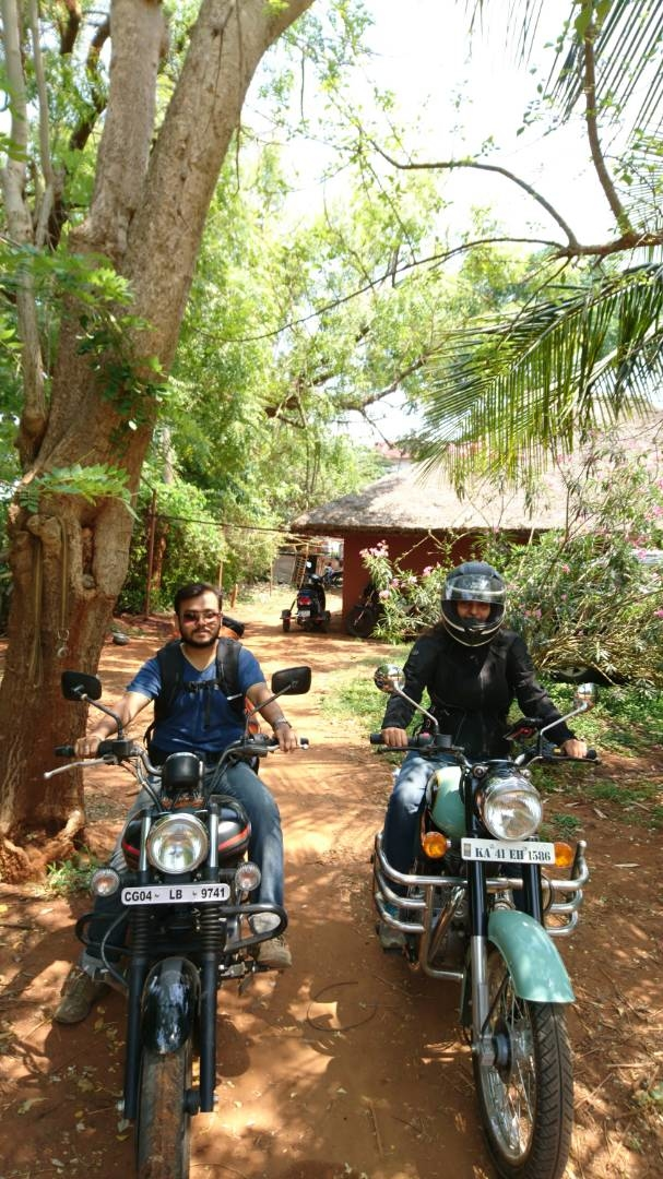 When you want to see wildlife - flora and fauna - zoo is never an answer... Go to a Forest and be a part of it!! A 400+ km ride on my haathi!! Kabini is mind-blowing!!#helmetdiaries #kabini #wildlife #ridinghood #biking #royalenfield Say no to Zoo..