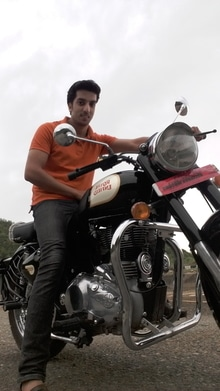 # Happiness # Saturday # awesome_weather # bullet # classic_350 # black # royal Enfield # dugdug # greenway # ride.....
