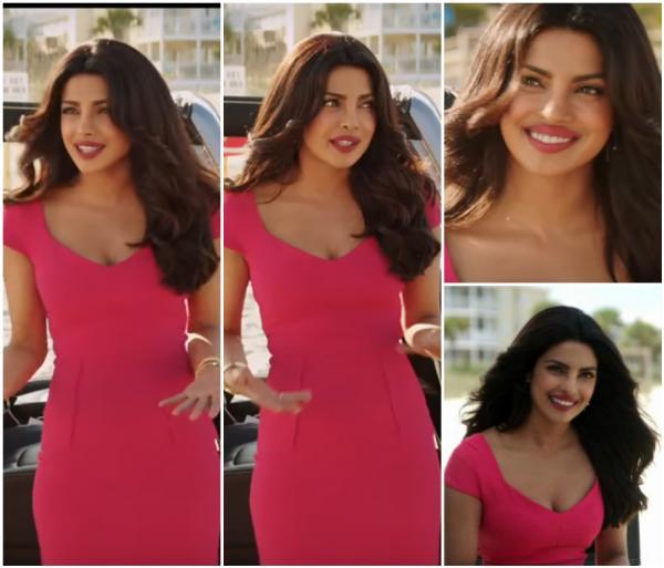 Stylish Priyanka Chopra in Pink.