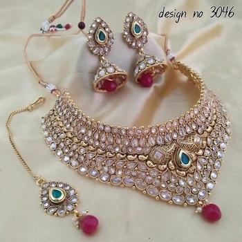 order on whatsaap no-7208342482 we are manufacture of #imitationjewellery #fabric #beautifuljewelry #partywearjewelry