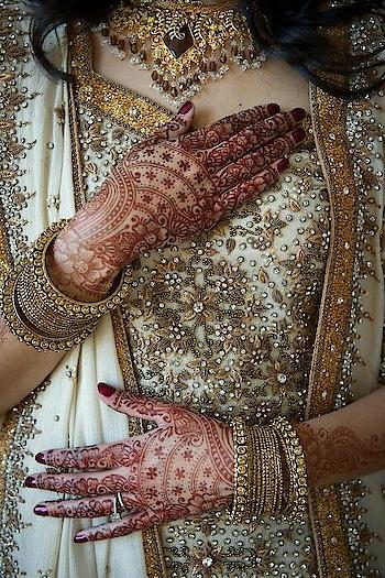 White n Gold wedding!!!  #roposogal #roposofashionista #roposolove #like4like #roposofam #bridesofindia #bridal-outfit