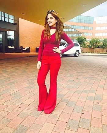 aima_baig_official#red ❤️