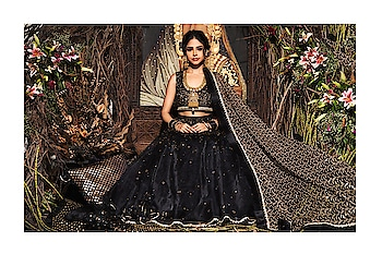 Black and Gold makes an evergreen combination. Grab our #autumnwinterfestive2019 collection #SprinklebyNityaBajaj  Talent @harshi2500  Makeup @gurumakeupart  Jewelry @sunarjewels  Assistance @gennexindia  #labelnityabajaj #NityaBajaj #blacklehenga #blackgold #goldblack #blackandgold #indiandesigner #indianlehenga #indianwedding #wedding #cocktail #cocktaillehenga #bridal #gold #goldjewelry #sunarjewels #blacklehenga #lehenga