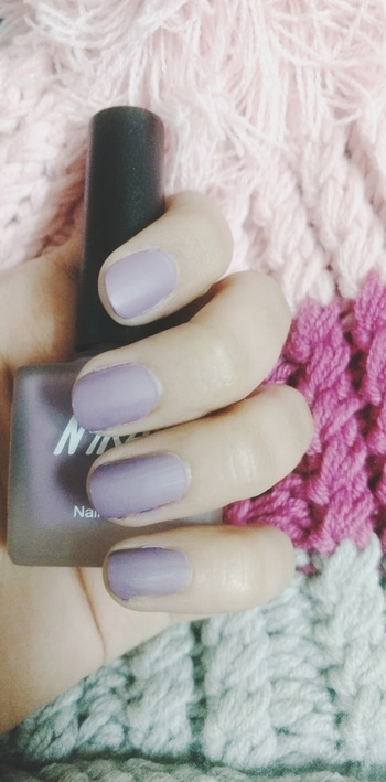 Just had to post about this nailpolish. It's from nykaa's matte nailpolish collection. Gives you an amazing matte finish. Just tried this shade. This was gifted to me and soon I'm going to buy the range of colours. I know many of you must have tried this, if you haven't yet then girl what are you waiting for? Price : 199  #nailpolish  #nailpaint  #nailpaintaddict  #nailpaintshades  #nykaa  #mattenails  #mattetrends  #mattelook  #likeforlike  #like4follow  #followforfollow  #followme #tagsforlikes #morecolorsavailable  #followmeoninstagram  #followmeplease  #love  #trendalert  #trendingonroposo  #trendingnow  #trendinglive  #beautyblogger  #beautybloggerindia  #ropo-love  #soroposogirl  #nykaamattenails #nykaamattenails