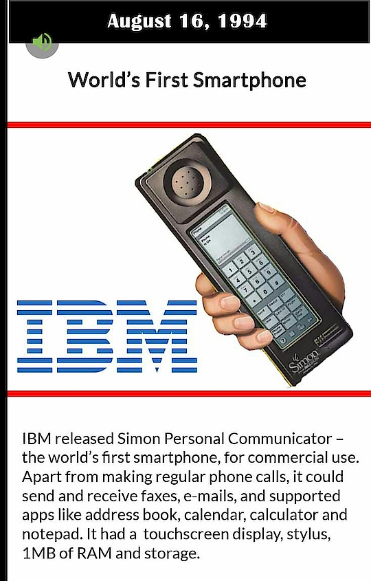 #word  #first  #smart  #phone  #ibm  #mobile  #today